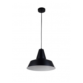 Suspension Combi Light and Dzign métal noir mat 15w E27
