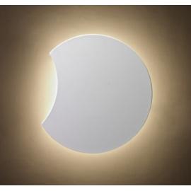 Applique led Petaca Mantra métal blanc avec diffuseur acrylique 8w led 3000k 480 lumens