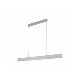 Suspension led Petaca Mantra métal blanc avec diffuseur acrylique 40w led 3000k 2080 lumens