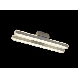 Applique led Zurich Mantra métal blanc avec diffuseur acrylique 21w led 4000k 1100 lumens