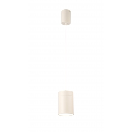 Suspension Aruba Mantra métal blanc 40w E27