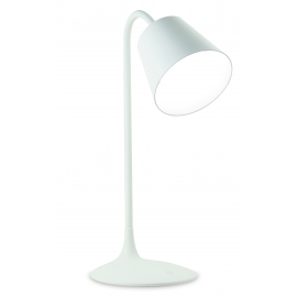 Lampe led Reading Mantra métal blanc 3,2w led 5000k 120 lumens tactile, dimmable