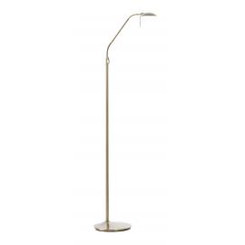 Lampadaire de lecture led Koa Mdc métal laiton patinè 6w+6W de 2700k a` 6500k de 80 lumens à 675 lumens
