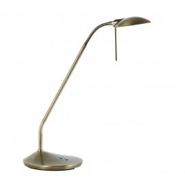 Lampe led Koa Plus Mdc métal laiton patiné 6w+6w led de 2700k à 6500k de 80 lumens à 675 lumens
