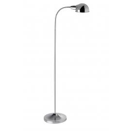 Lampadaire de lecture Pep Mdc métal chrome brillant 20w E27