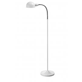 Lampadaire de lecture Pep Mdc métal blanc 20w E27