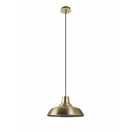 Suspension Nexy Mdc métal bronze 15w E27