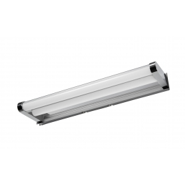 Applique led Strin Mdc métal chrome 2x7w led 4000k 1400 lumens