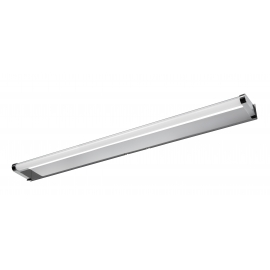 Applique led Strin Mdc métal chrome mat 14w led 4000k 1400 lumens IP44 classe 2