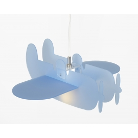 Suspension Plano Emporium plexiglass bleu 23w E27