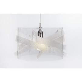 Suspension Bigbang Emporium plexiglass transparent, spectral 23w E27
