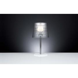 Lampadaire Pixi Emporium plexiglass transparent, noir 23w E27