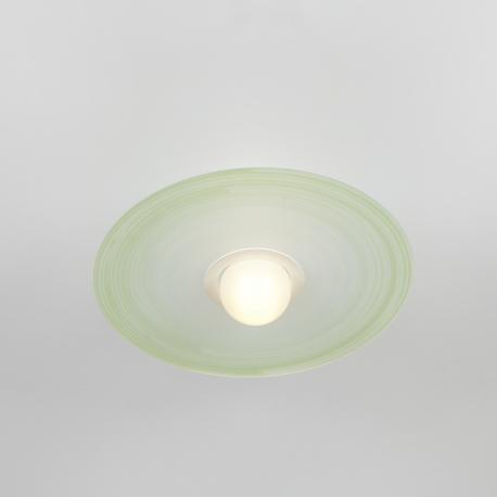 Plafonnier Saturno Emporium plexiglass vert 23w E27