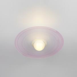 Plafonnier Saturno Emporium plexiglass rose 23w E27