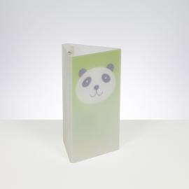 Lampe Trio Panda Emporium plexiglass vert 23w E27