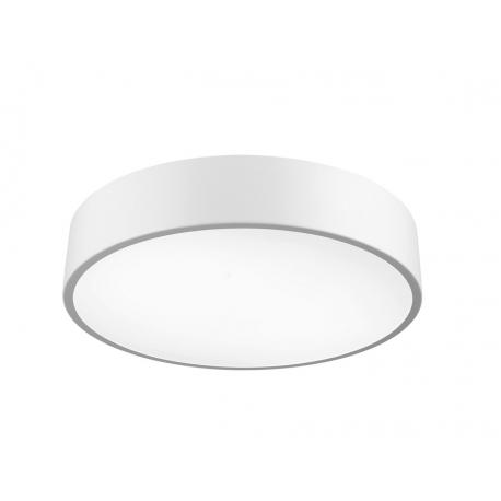 Plafonnier led Cumbuco Mantra métal blanc avec diffuseur acrylique 90w led 4200k 5400 lumens