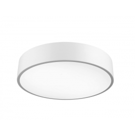 Plafonnier led Cumbuco Mantra métal blanc avec diffuseur acrylique 50w led 4200k 3000 lumens