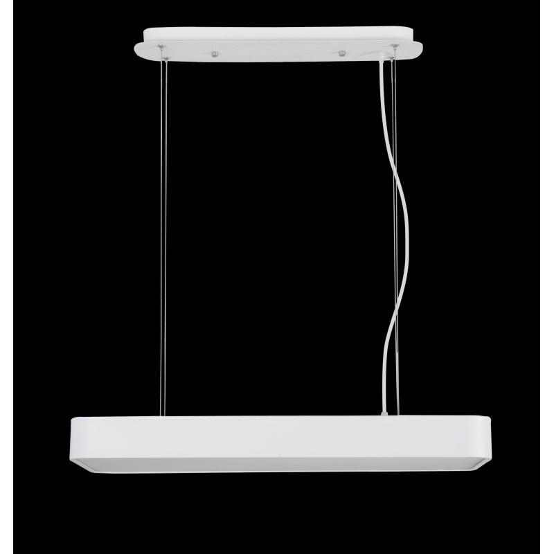 lustre led rectangulaire cumbuco mantra. Black Bedroom Furniture Sets. Home Design Ideas