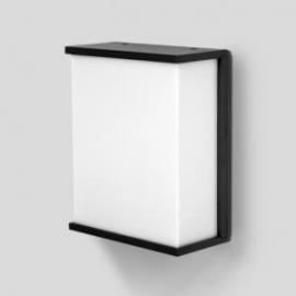 Applique Box Cube Lutec en fonte d`aluminium gris anthracite 15w E27 IP54 IK06