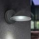 Applique led Cone Lutec en fonte d`aluminium gris anthracite 8x1,5w 780 lumens 4000k IP54 classe 1 IK07
