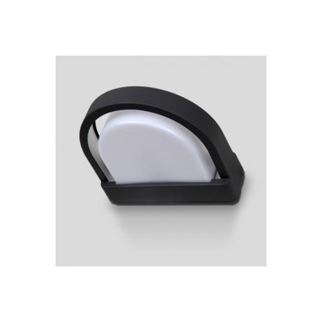 Applique Origo Lutec en fonte d`aluminium gris anthracite 23w E27 IP54 classe 1 IK05