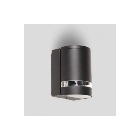 Applique Focus Lutec en fonte d`aluminium gris anthracite 35w GU10 IP44 classe 1 IK06