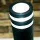 Borne Focus Lutec en fonte d`aluminium gris anthracite 35w GU10 IP44 classe 1 IK07