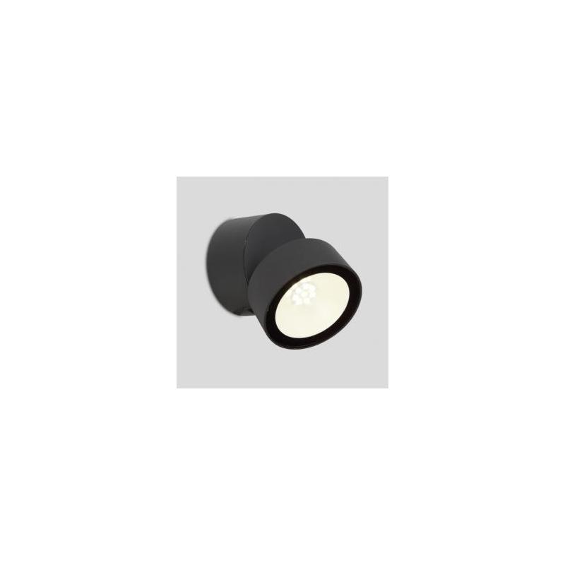 best applique led trumpet lutec en fonte daluminium gris anthracite w lumens k ip with luminaire. Black Bedroom Furniture Sets. Home Design Ideas