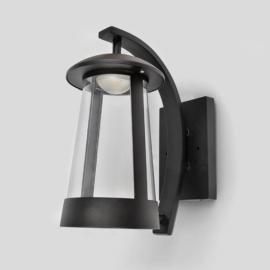 Applique led Candle Lutec en fonte d`aluminium gris anthracite 11w 660 lumens 3000k IP44 classe 1
