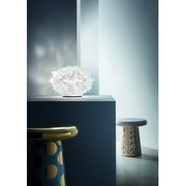Lampe led Veli Couture Slamp design Adriano Rachele en opalflex, lentiflex 4w led filament E27