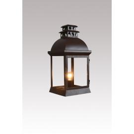 Applique Le Fresne Lanternes D`Autrefois métal marron rouille 23W E27 IP44 Classe 2