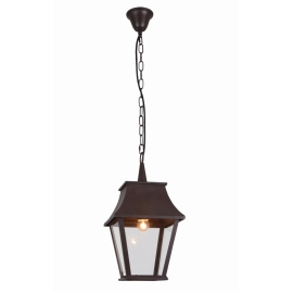 best suspension dampierre lanternes dautrefois mtal marron rouille w e ip classe with luminaire. Black Bedroom Furniture Sets. Home Design Ideas