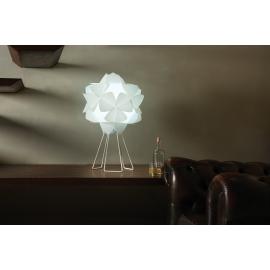 Lampe cotton Light Emporium design Letitia Mammini en polyméthacrylate de méthyle blanc 1x70w E27