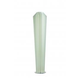 Lampadaire Clyde Emporium design Romeo Guarrici en polycarbonate base métal chrome 4x42w E27