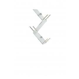 Etagère Clio Emporium design Romeo Guaricci en métachrylate transparent épaisseur 10mm