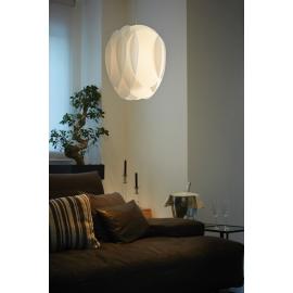 Suspension Flora Emporium design Romeo Guaricci en métachrylate blanc 70w E27