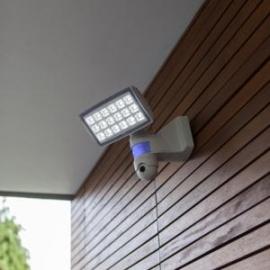 Applique de sécurité Peri avec détecteur de présence, vidéo connectée, led Lutec