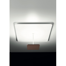 Applique, Plafonnier Led Polis Giarnieri aluminium marron 18,9w led 2728 lumens 3000k