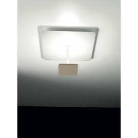 Applique, Plafonnier Led Polis Giarnieri aluminium dove grey 18,9w led 2728 lumens 3000k