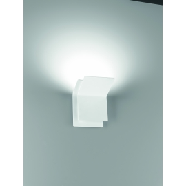 Applique Led Double Giarnieri aluminium blanc 15w led 1350 lumens 3000k