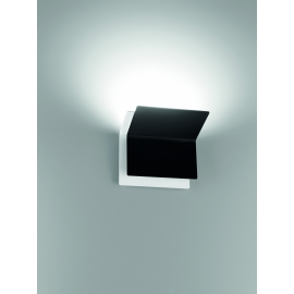Applique Led Double Giarnieri aluminium noir 15w led 1350 lumens 3000k