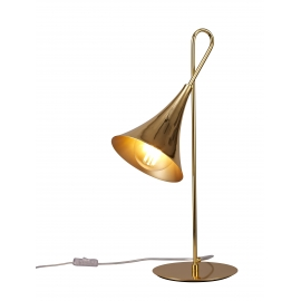 Lampe Jazz Mantra métal or 20w E27