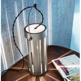 Lampe Faro Sillux fabrication italienne en métal titane 46w E27