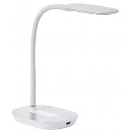 Lampe led touch Lena Mdc métal blanc