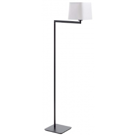 Lampadaire de lecture led Finess Mdc métal nickel mat, interrupteur tactile 6w led cob