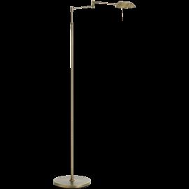Lampadaire de lecture Lite Mdc métal bronze, interrupteur tactile 10w led 640 lumens 3000k
