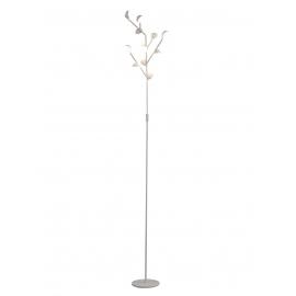 Lampadaire Led Adn Mantra métal blanc mat avec diffuseur en acrylique 11x3w 3000k 1650 lumens
