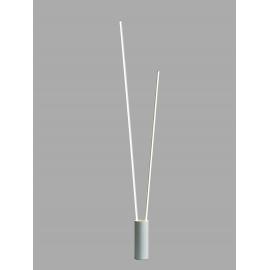 Lampadaire led dimmable Vertical blanc Mantra 44w 3000K 2600 lumens H180, idéal pour un intérieur design