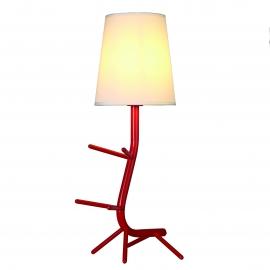 Lampe Centipede bleue Mantra E27 H64, ideale en chevet, au salon, repose livres