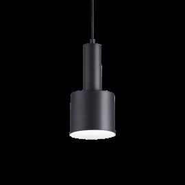 Suspension Holly métal noir câble textile idéal pour les plans de travail, pour les cuisines